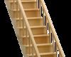 Деревянные лестницы — виды лестниц в частном доме
