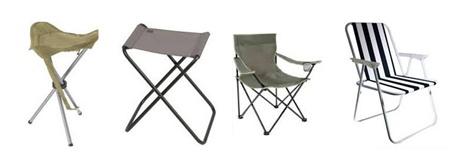 Туристические стулья