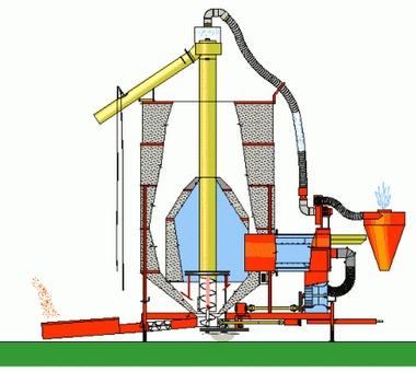 Зерносушилки конвейерного типа