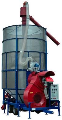 Стационарные и подвижные зерносушилки на газу и дизтопливе