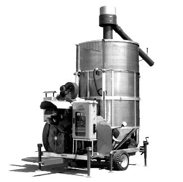 Искусственные зерносушилки конвейерного типа