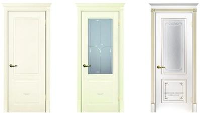 Три двери белые